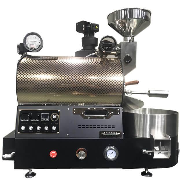 コーヒーショップ用2Kgガスロースターアップグレードバージョンコーヒー豆焙煎機
