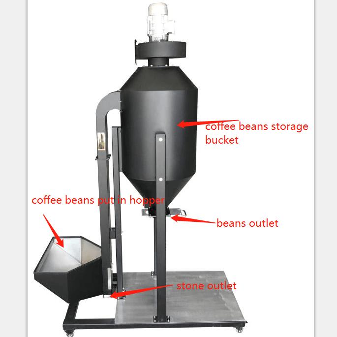 coffee destoner machine price high quality destoner for roasting coffee beans 4