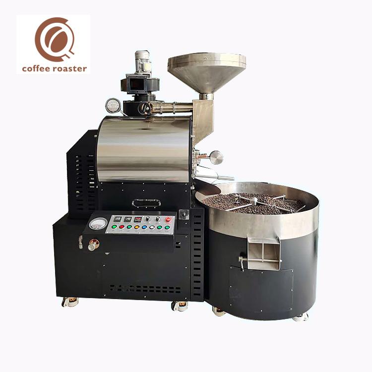 焙煎機コーヒー15Kgバッチガス産業コーヒー焙煎機